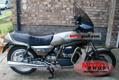 Moto Guzzi V 1000 SP II 1988 photo