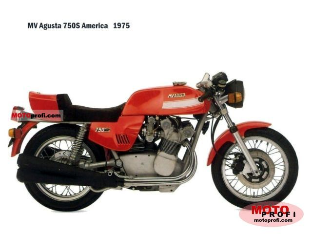 MV Agusta 750 S 1975 photo