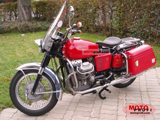 Moto Guzzi V 7 850 GT 1972 photo