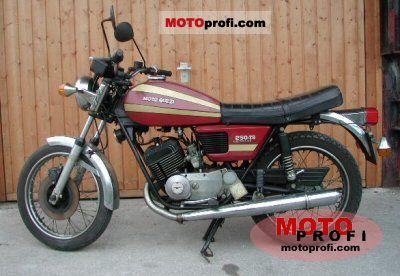 Moto Guzzi 250 TS 1975 photo