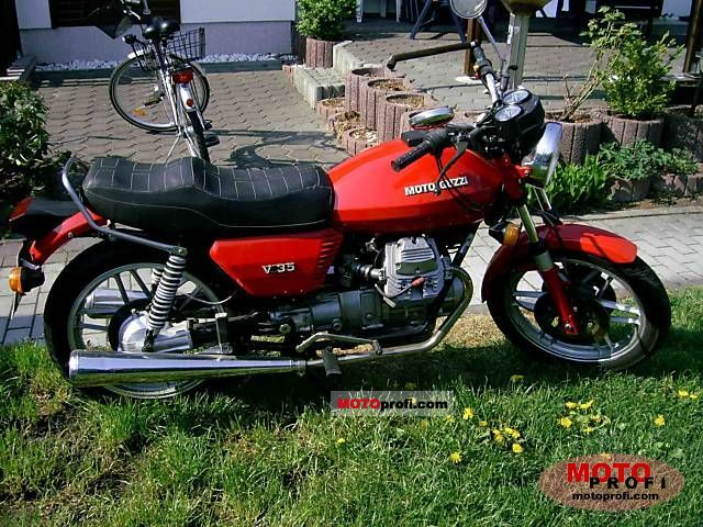 Moto Guzzi V 35 1978 photo