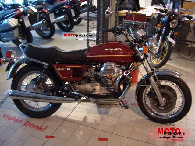 Moto Guzzi 850 T 4 1981 photo