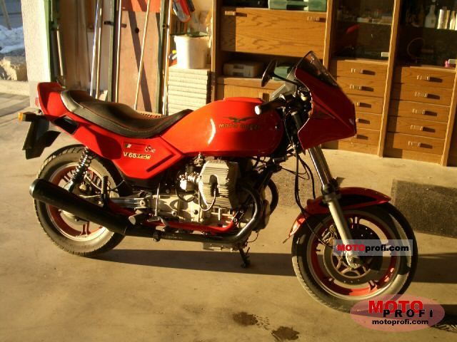 Moto Guzzi V 65 Lario 1985 photo