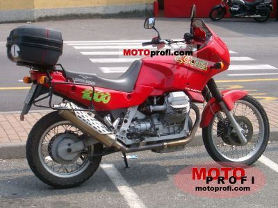 Moto Guzzi 1000 Quota Injection 1992 photo