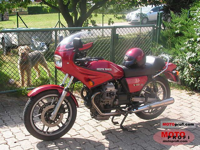 Moto Guzzi V 50 III 1981 photo