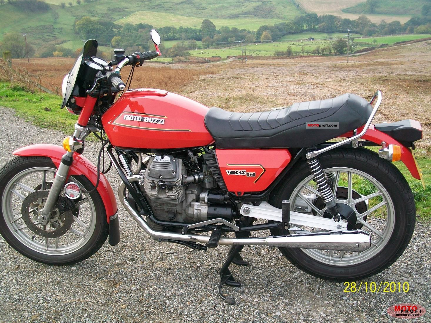 Moto Guzzi V 35 II 1984 photo