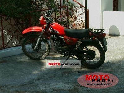 Harley-Davidson SXT 125 1982 photo