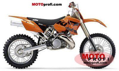 KTM 300 MXC USA 2004 photo