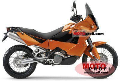 KTM 950 Adventure Orange 2005 photo