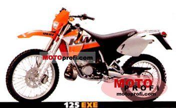 KTM EXE 125 Enduro 2001 photo