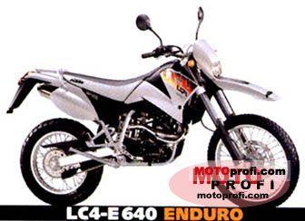 KTM LC4-E 640 Enduro 2001 photo