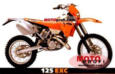 KTM 125 EXC 2001 photo