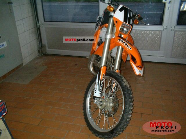 KTM 125 EXC 2003 photo