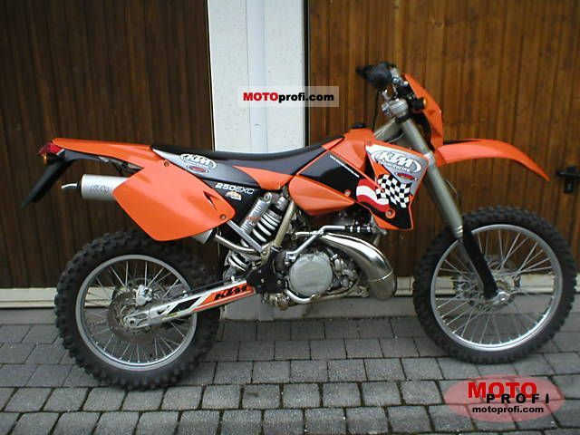 KTM 250 EXC 2004 photo