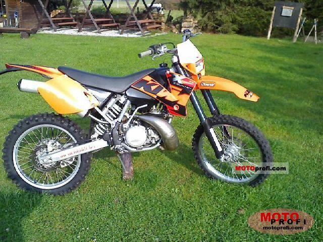 KTM 250 EXC 2005 photo
