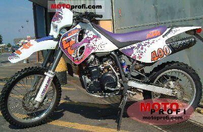 KTM 400 LC4 EGS 1997 photo