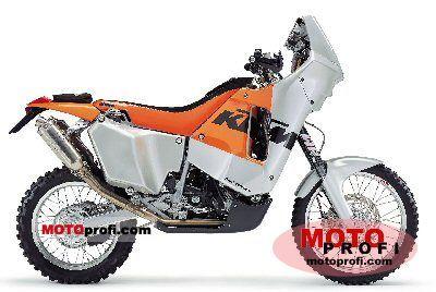 KTM 660 LC4 Rally Factory Replica 2003 photo