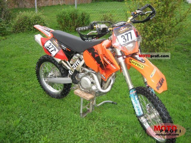 KTM 400 EXC Racing 2005 photo