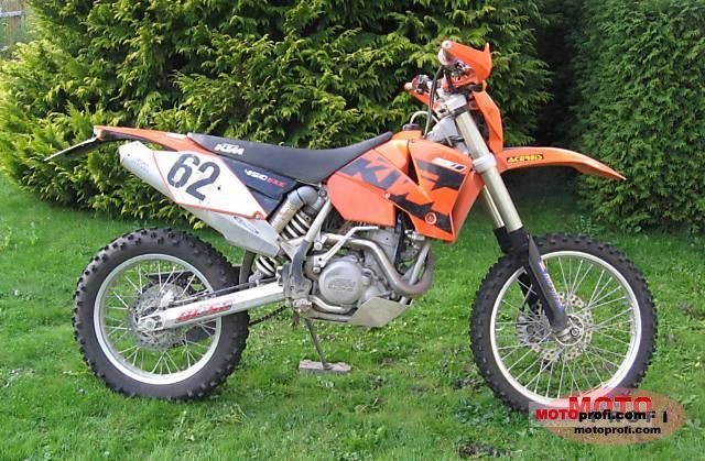 KTM 450 EXC Racing 2004 photo