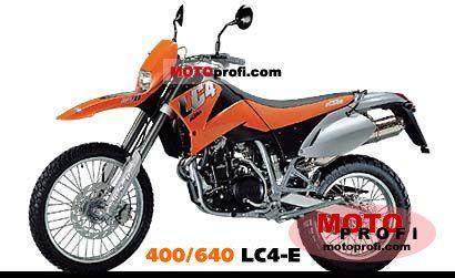 KTM 640 LC4-E 2000 photo