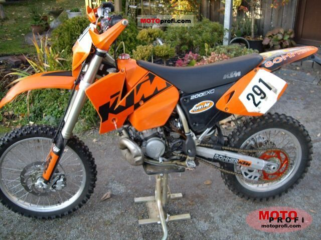 Ktm 200 Exc 2003 Specs And Photos