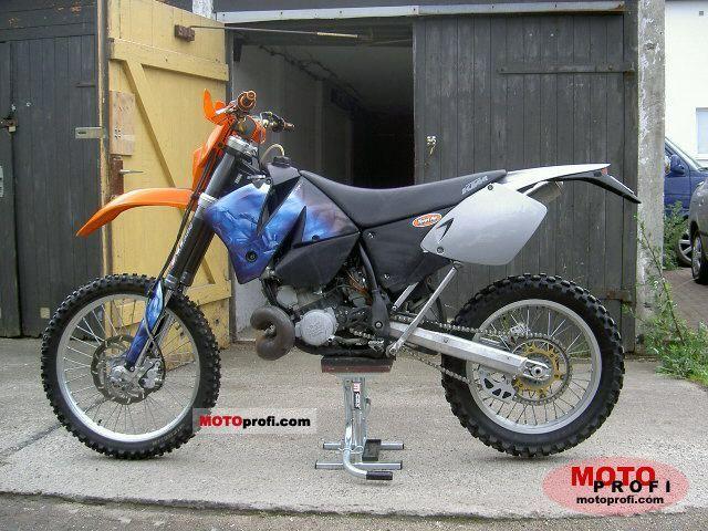 KTM 380 EXC 2000 photo