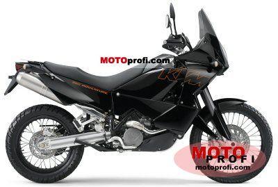 KTM 950 Adventure Black 2005 photo