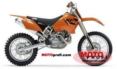 KTM 525 MXC USA 2004 photo
