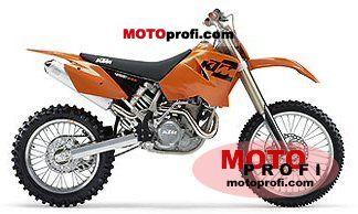 KTM 450 MXC USA 2004 photo