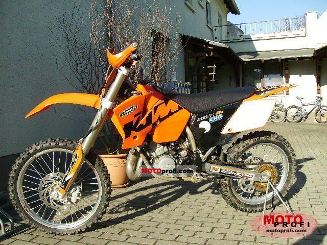 KTM 200SX Images
