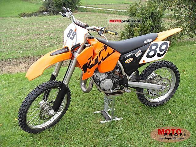 KTM 200 SX 2004 photo