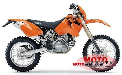 KTM 525 MXC Desert Racing 2003 photo