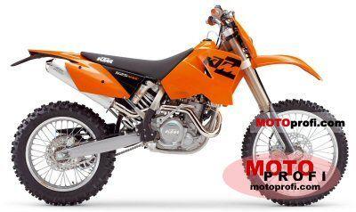 KTM 525 MXC Desert Racing 2005 photo