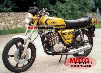 KTM Comet Grand Prix 125 RS 1975 photo