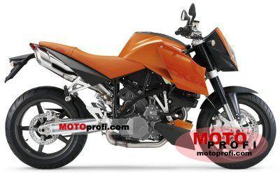 KTM 990 Super Duke Orange 2005 photo