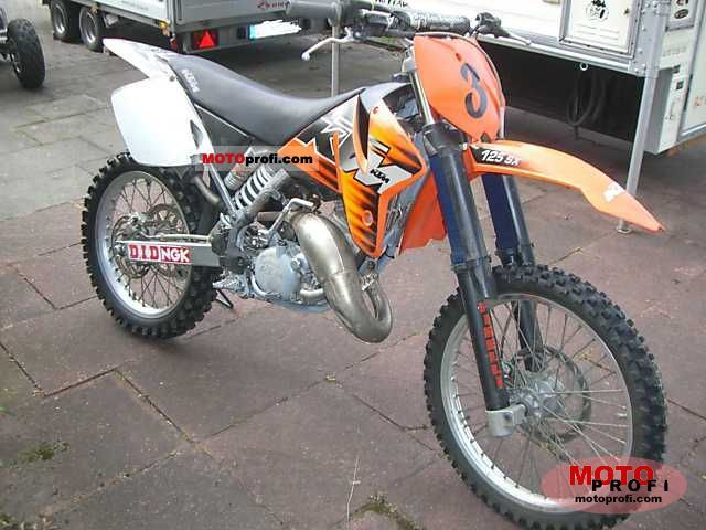 KTM SX 125 1999 photo