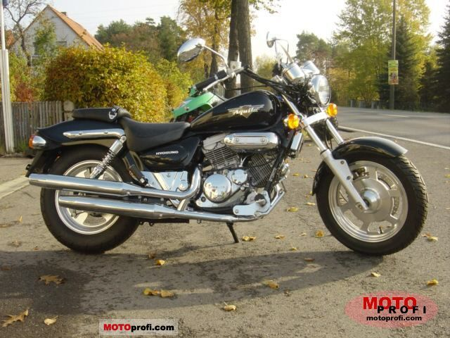 Hyosung GV 125 Aquila 2003 photo