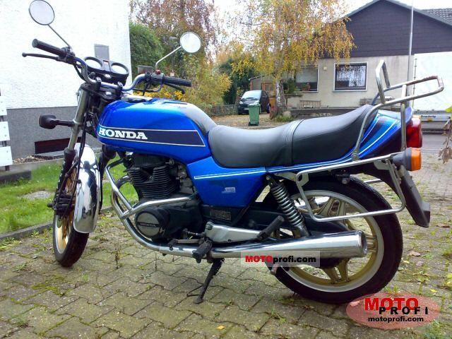 Honda CB 400 N 1981 photo