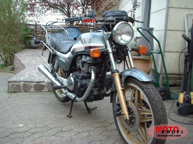 Honda CB 400 N 1983 photo