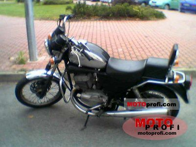 Jawa 639 Chopper 350 1996 photo