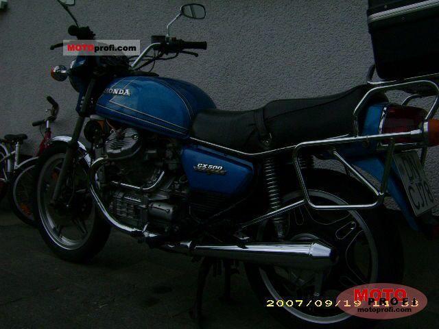 Honda CX 500 1981 photo