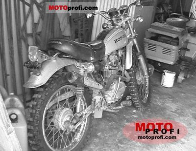 Honda SL 125 1972 photo