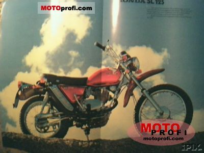 Honda SL 125 1973 photo