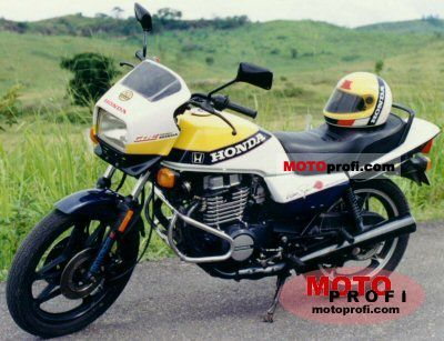 Honda CB 450 N (reduced effect) 1986 photo