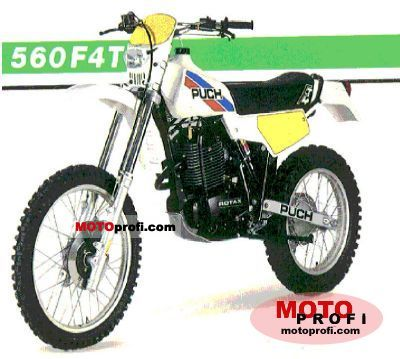 Puch GS 560 F 4 T 1985 photo