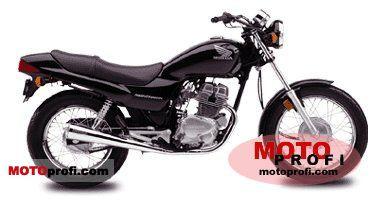 Honda CB 250 Nighthawk 2002 photo