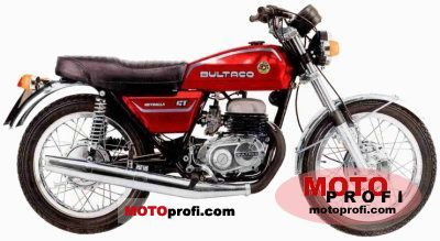 Bultaco Metralla 250 GT 1975 photo