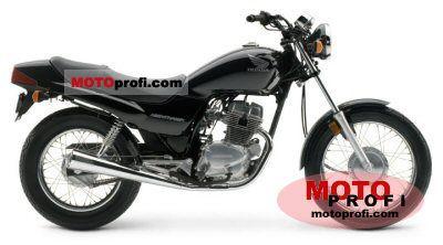 Honda CB 250 Nighthawk 2004 photo