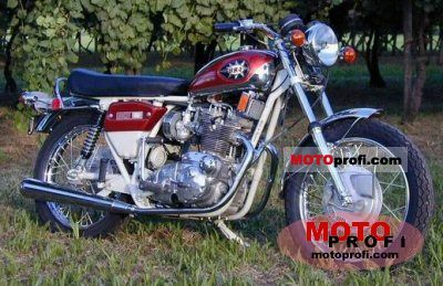BSA A 75 Rocket 3 1972 photo