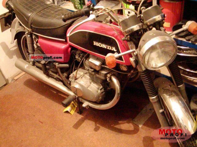 Honda CB 200 1975 photo